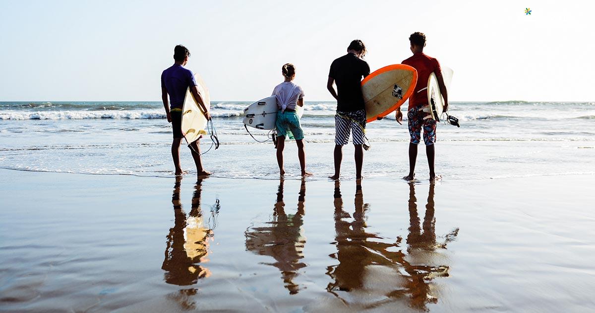 Torneo Nacional de Surf en La Boquita