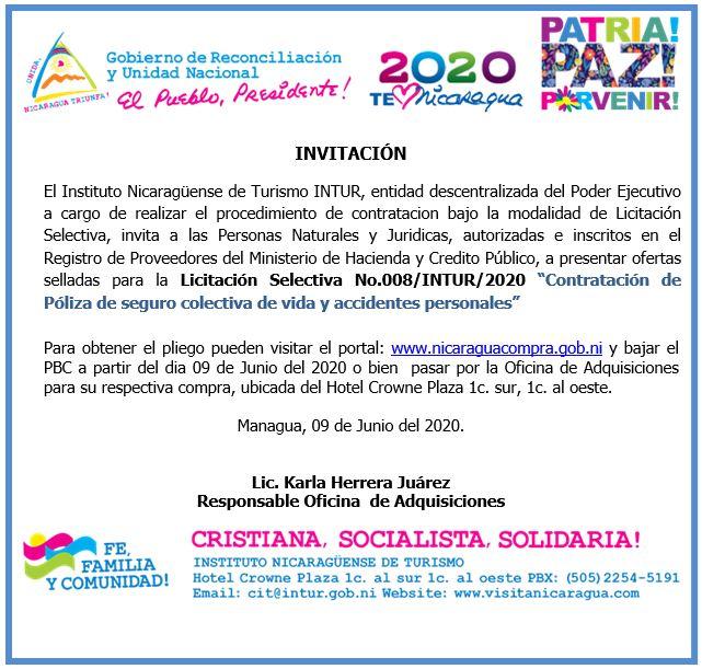 licitación junio 2020