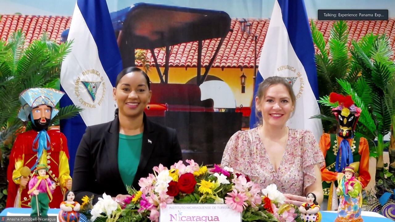 Ministra de Nicaragua Turismo