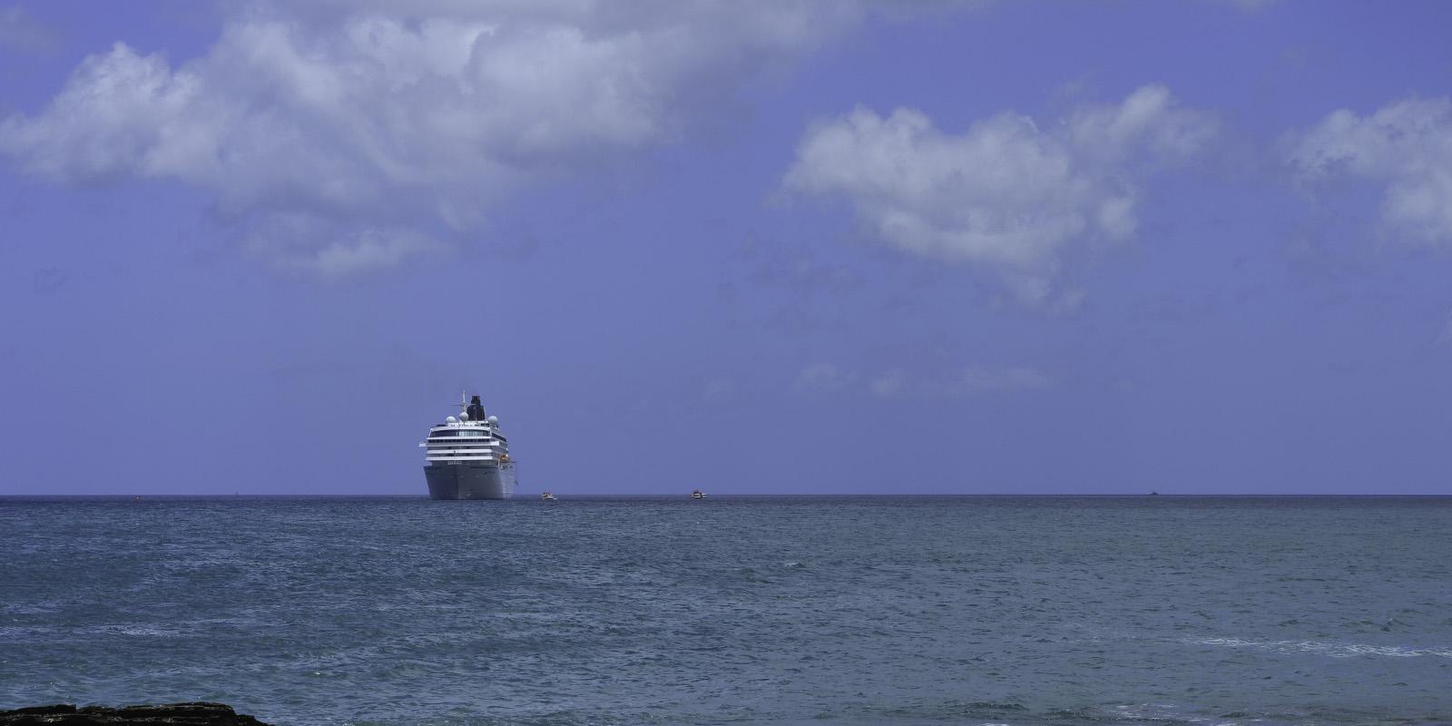 Portada de crucero