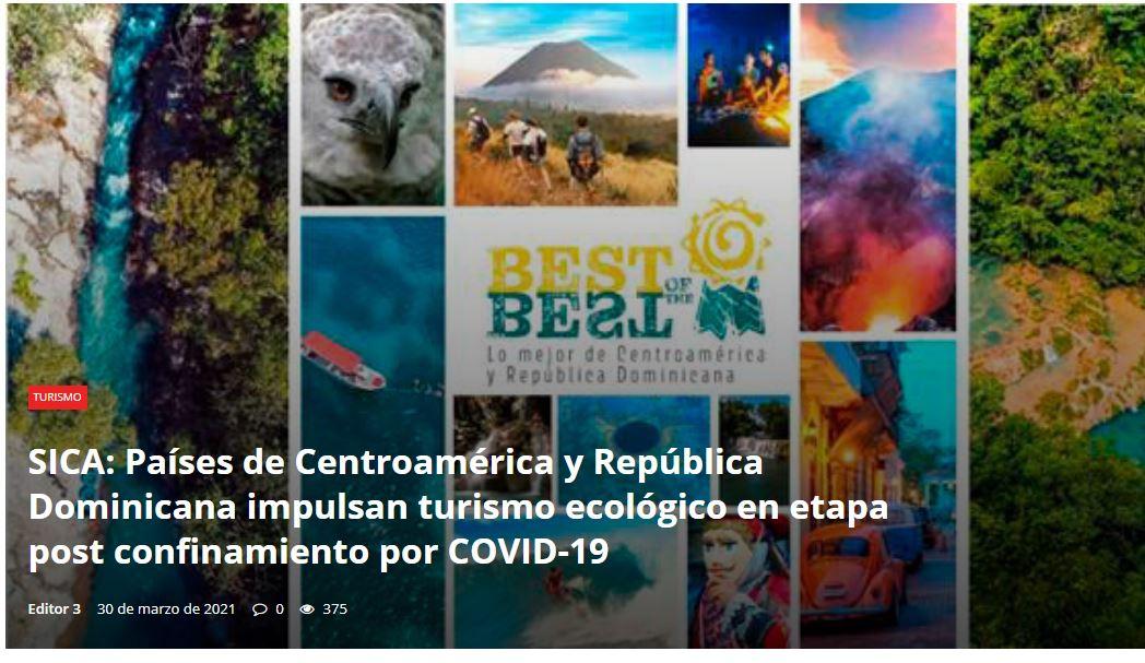 turismo ecológico en etapa post confinamiento por COVID-19