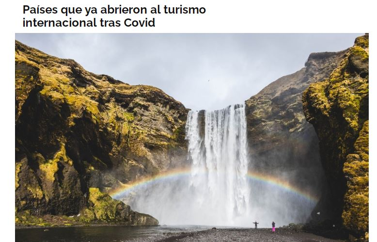 Países que ya abrieron al turismo