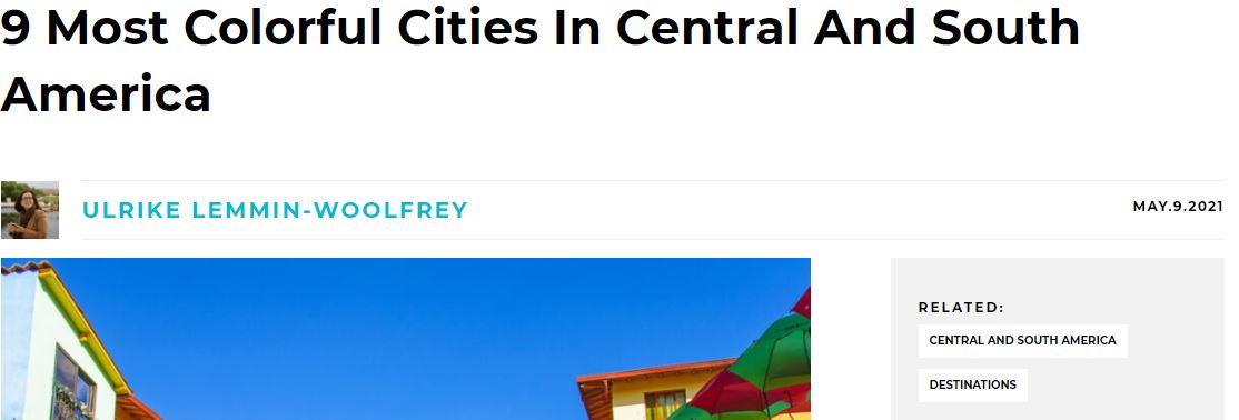 ciudades colorida